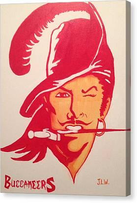 Buccaneers Canvas Print by Justin Lee Williams