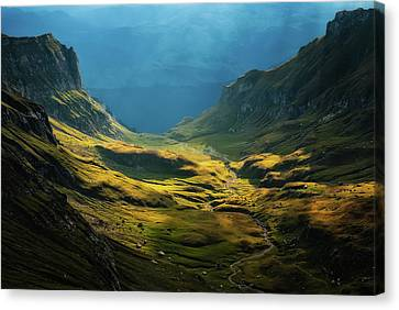 Romania Canvas Print - Bucegi Mountains by Cristian Lee