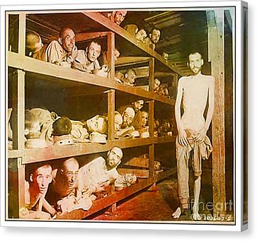 Buchenwald Concentration Camp Canvas Print