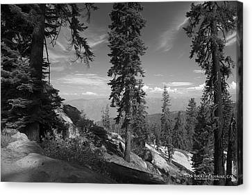 Buck Rock Fire Lookout Canvas Print by Ivete Basso Photography