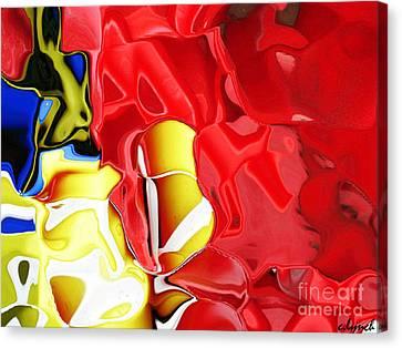 Bucket And Spade Canvas Print by Carol Lynch