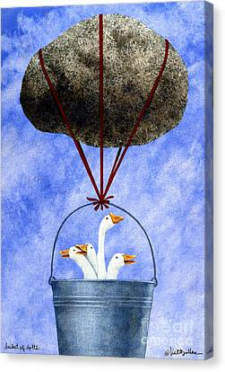 Bucket Of Dolts... Canvas Print by Will Bullas
