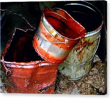 Buckets Canvas Print