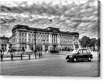 Buckingham Palace Art Canvas Print