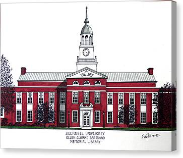 Bucknell University Canvas Print by Frederic Kohli