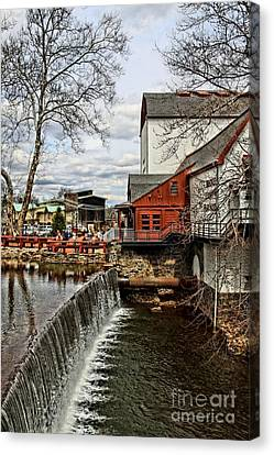 Bucks County Playhouse Canvas Print