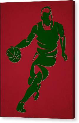 Bucks Shadow Player6 Canvas Print by Joe Hamilton