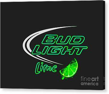 Bud Light Lime 2 Canvas Print