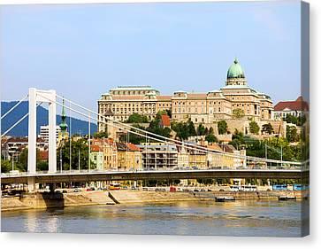 Budapest Cityscape Canvas Print by Artur Bogacki