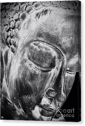 Canvas Print featuring the photograph Buddha by Andy Heavens