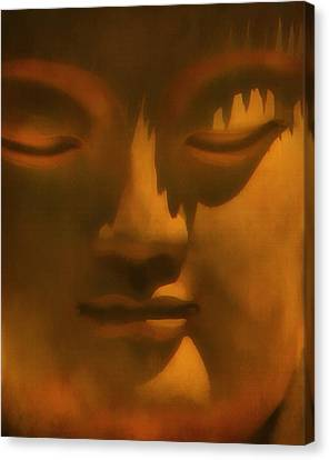 Buddha At Rest Canvas Print by Kandy Hurley