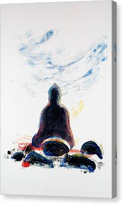 Buddha Fifty-one Canvas Print by Valerie Lynch