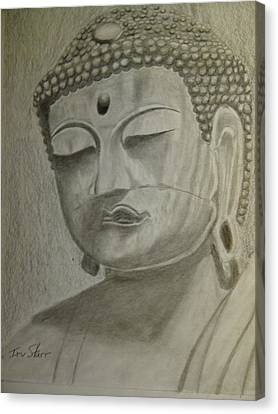 Buddha Canvas Print by Irving Starr