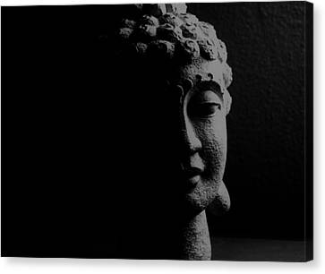 Canvas Print featuring the photograph Buddha  by Jessica Shelton