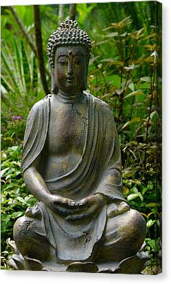 Canvas Print featuring the photograph Buddha by Keith Hawley