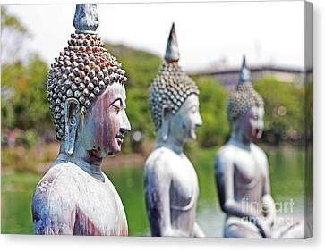 Buddha Canvas Print by Lars Ruecker