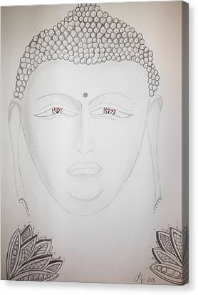 Buddha Canvas Print by Lori Thompson