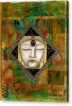 Buddha Mind Canvas Print