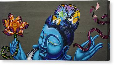 Buddha Canvas Print - Buddha  by Nelson Rodrigues da Costa