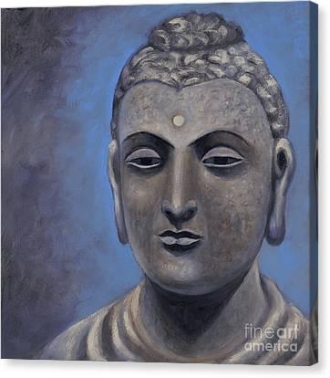 Buddha Portrait Canvas Print