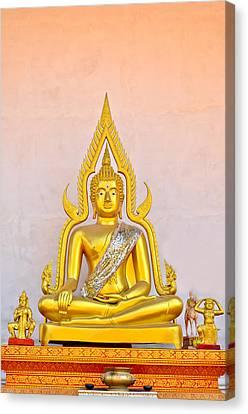 Buddha Statue Canvas Print by Keerati Preechanugoon