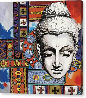 Dubai Gallery Canvas Print - Buddha Tapestry Style by Corporate Art Task Force