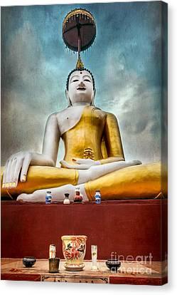 Buddha Thailand Canvas Print by Adrian Evans