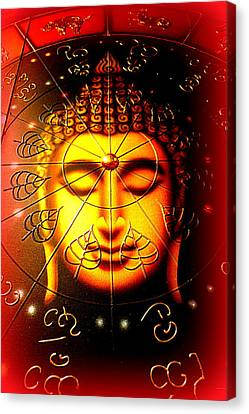 Buddha Canvas Print by The Creative Minds Art and Photography