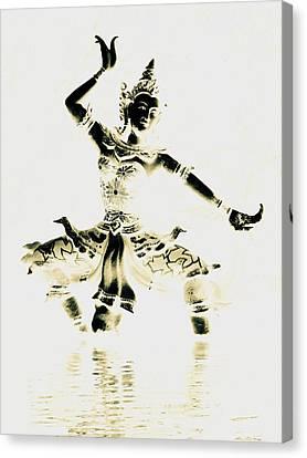 Buddhist Dancer Canvas Print