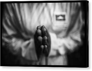 Buddhist Prayers Canvas Print by David Longstreath