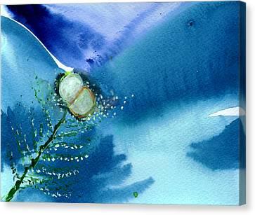 Budding 2 Canvas Print by Anil Nene