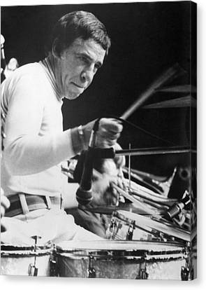 Buddy Rich Canvas Print by Silver Screen