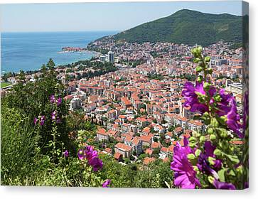 Overalls Canvas Print - Budva, Montenegro. Overall View by Panoramic Images