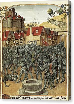 Localities Canvas Print - Bueil, John V Of 1406-1477. Noble by Everett