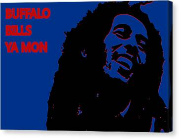 Buffalo Bills Ya Mon Canvas Print by Joe Hamilton