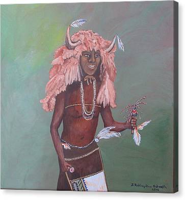 Buffalo Dancer Canvas Print