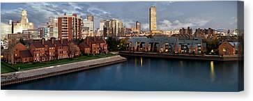 Buffalo New York Canvas Print - Buffalo Evening by Peter Chilelli