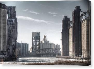 Buffalo Grain Mills Canvas Print