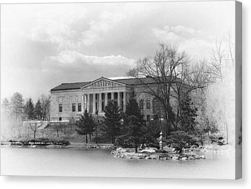 Historic Architecture Canvas Print - Buffalo History Museum 2 by Peter Chilelli