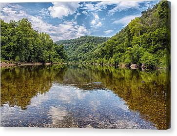Buffalo National River Canvas Print by Bill Tiepelman