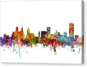 Buffalo New York Skyline Canvas Print
