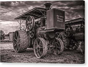 Buffalo Pitts Steam Traction Engine Canvas Print