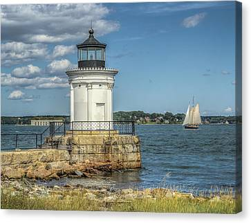 Canvas Print featuring the photograph Bug Light by Jane Luxton