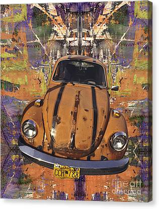 Bug Love Canvas Print by Bruce Stanfield