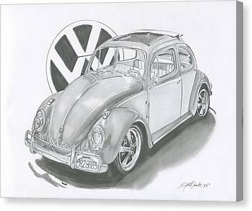 Bug Canvas Print by Raquel Ventura