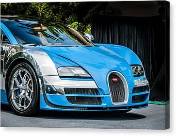 Bugatti Legend - Veyron Special Edition -0844c Canvas Print by Jill Reger