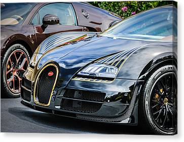 Bugatti Legend - Veyron Special Edition -0845c Canvas Print by Jill Reger