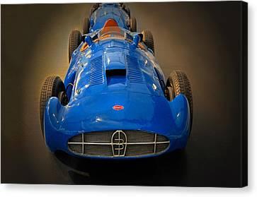 251 Canvas Print - Bugatti Monoplace Gp Type 251 by Dave Mills