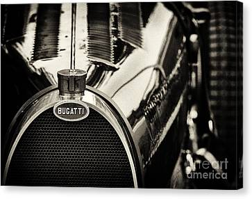 Front End Canvas Print - Bugatti Type 35 by Tim Gainey