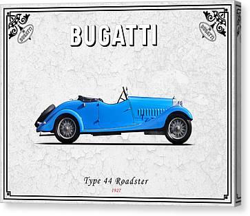 Bugatti Type 44 1927 Canvas Print by Mark Rogan